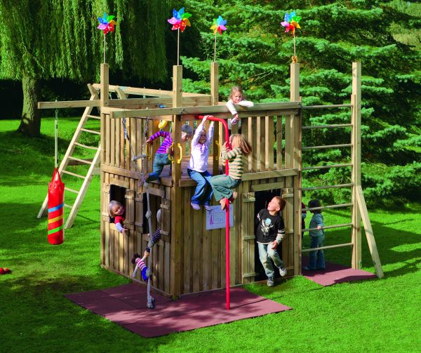 stelzenhaus kinder cool spielturm wickey smart treetop garten kinder kletterturm stelzenhaus. Black Bedroom Furniture Sets. Home Design Ideas